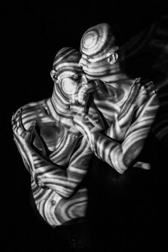 Bodylightpainting - Doppelbelichtung